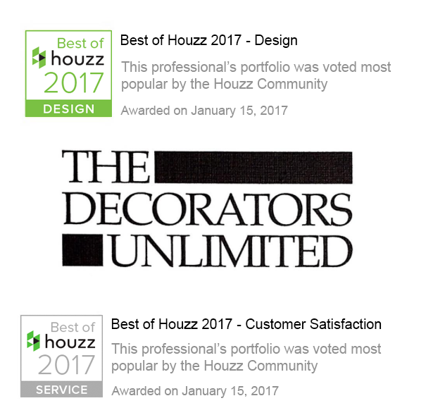 Decorators Unlimited Awarded Best Of Houzz 2017 Decorators Unlimited
