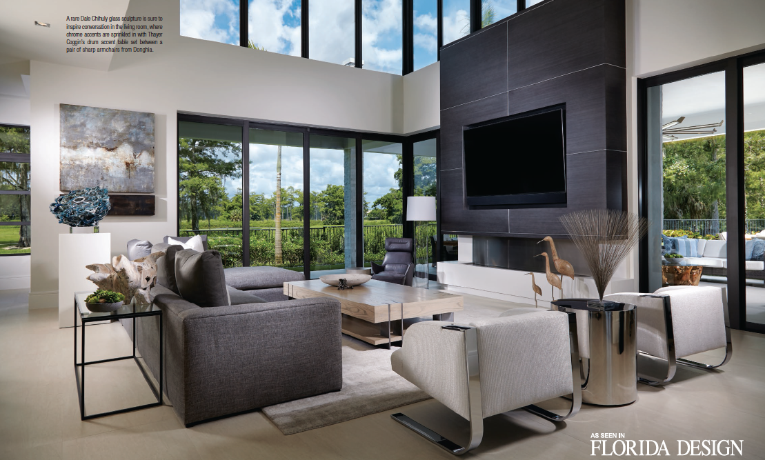 decorators unlimited featured in florida design magazine