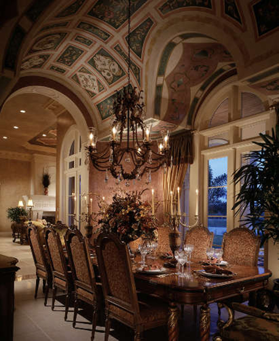 Luxury Homes Interior Designs Old World Style With Amazing: Traditional Interior Design